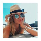 swimwear,bikini,rosie huntington-whiteley,model off-duty,instagram,hat,sunglasses
