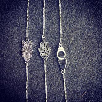 jewels bracelets jewelry hiboux rihanna swag vintage i like it cute beautiful