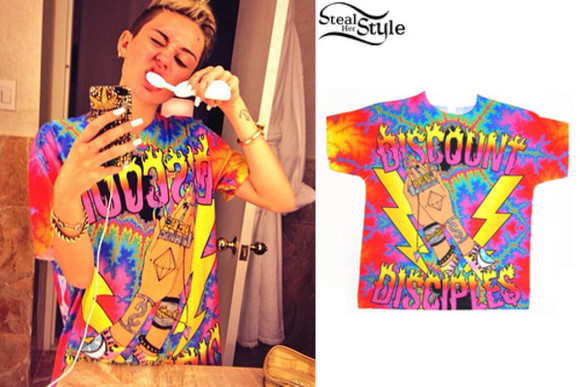 shirt large miley cyrus cheap discount diciples men