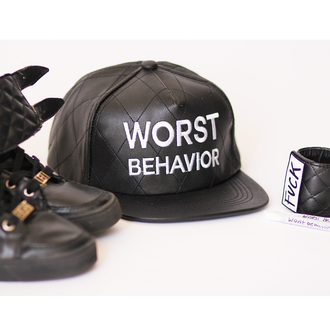 shoes leather quilted snapback nike air max jordan worst behavior