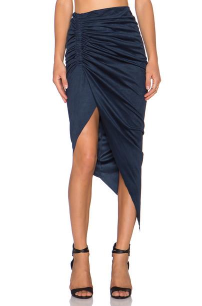 Bardot skirt navy