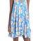 Soprano crisscross detail floral print shift dress | nordstrom
