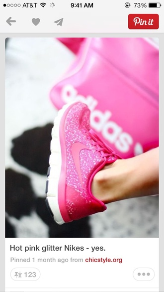 shoes pink glitter nikes glitter running shoes nike pink nike running shoes nike  free run nike