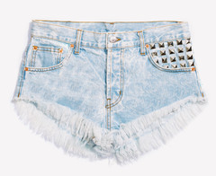 Runaway Alexx Stoner Studded Babe Shorts | RUNWAYDREAMZ