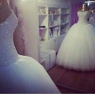 quinceanera dress quincenera poofy poofy dress light pink sparkle sparkly dress