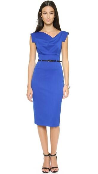 dress belted dress