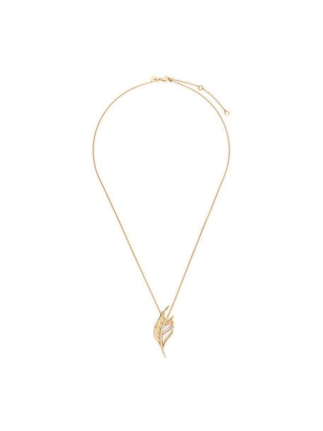 SHAUN LEANE women pearl necklace diamond necklace gold silver white yellow grey metallic jewels