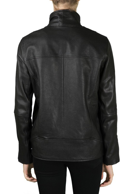 Helmut Lang Cluster Leather Jacket | DIANI Women's Designer Clothing and Shoe Boutique | Shop Online at dianiboutique.com