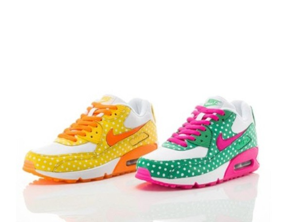 polka dots polka dot shoes kicks air max sneakers nike air max