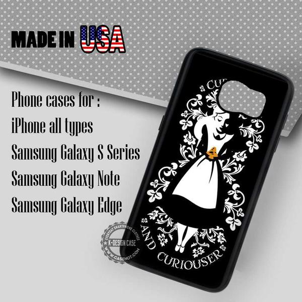 Samsung S7 Case - Curiouser Alice - iPhone Case #SamsungS7Case #alice #yn