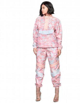 pants jacket kylie jenner kardashians instagram pink