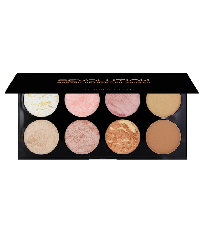 Buy Makeup Revolution - Ultra Blush and Contour Palette - Golden Sugar > face > powder blush > blush
