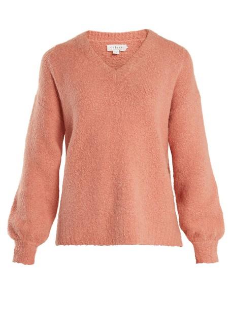 VELVET BY GRAHAM & SPENCER sweater pink