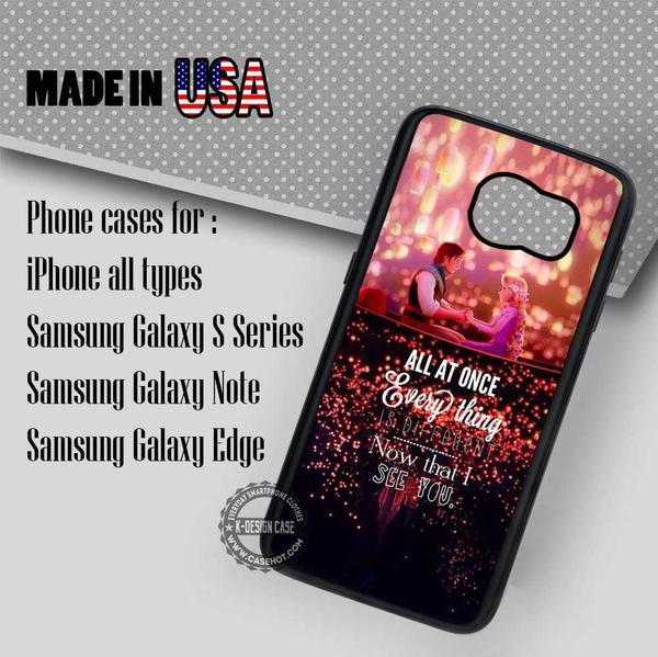 Samsung S7 Case - Rapunzel Disney Princess Quote - iPhone Case #SamsungS7Case #quote #yn