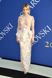 dress,floral,floral dress,lili reinhart,maxi dress,cfda,celebrity