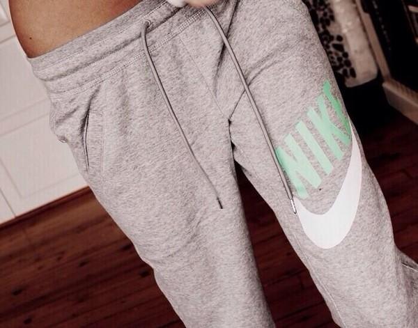 pants sweatpants grey sweatpants nike mint sweatpants workout teal mint grey comfy nike sweatpants