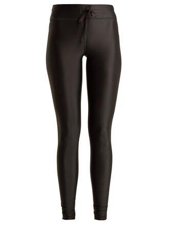 leggings drawstring black pants
