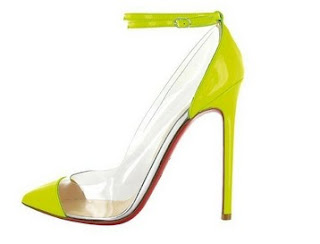 Christian Louboutin Shoes, the original pumps pvc transparent to the summer 2012 | Footwear & Boots 2014 New Models