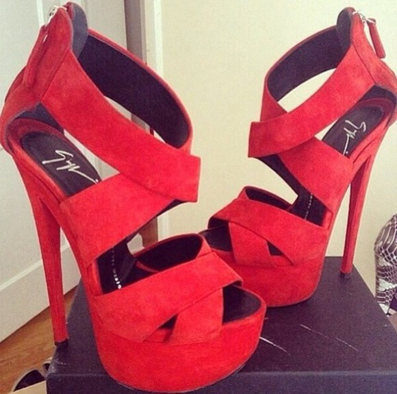 shoes red shoes high heels summer shoes escarpins platform high heels