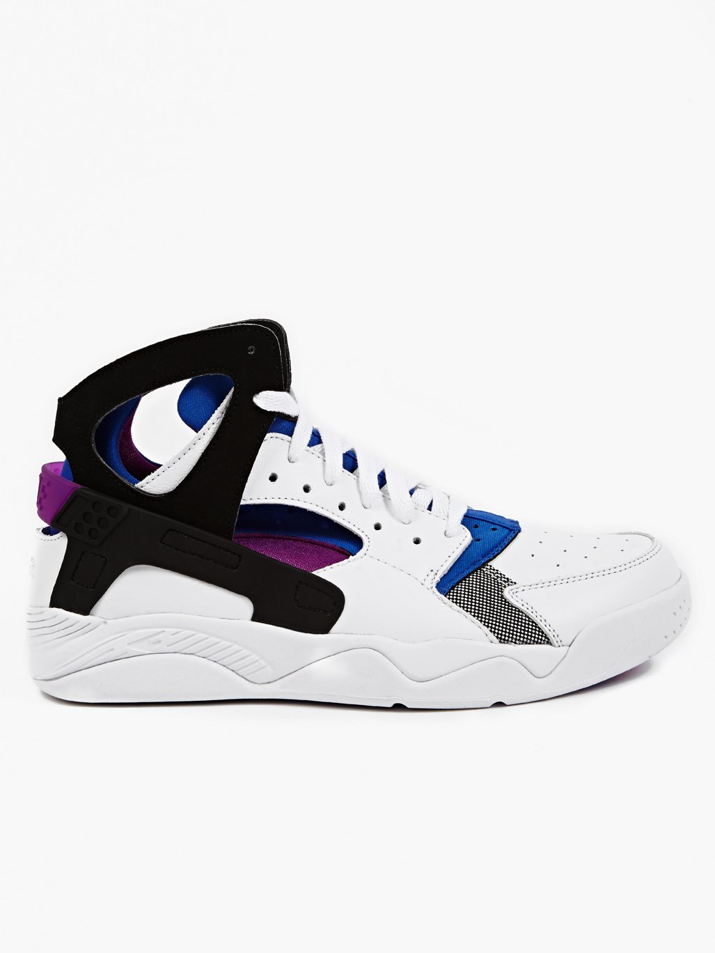 Nike Men's White Air Flight Huarache PRM QS Sneakers