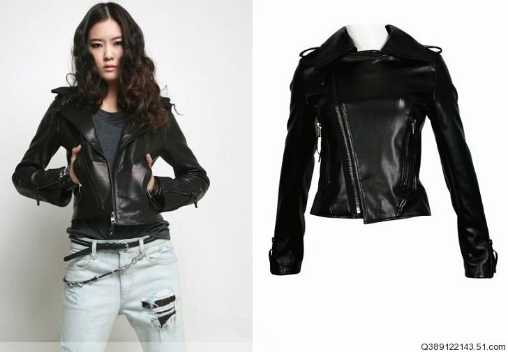 Collection Black Leather Jackets Women Pictures - Reikian