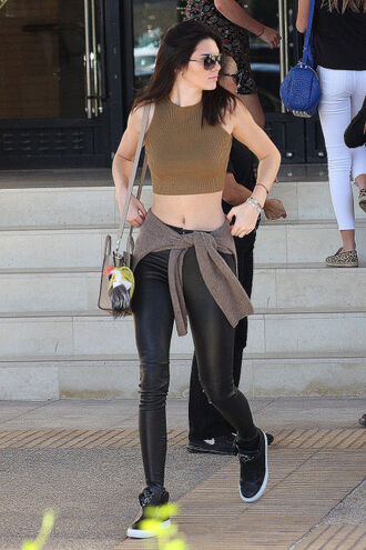top kendall jenner crop tops leggings shoes