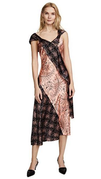 Diane Von Furstenberg dress draped dress draped