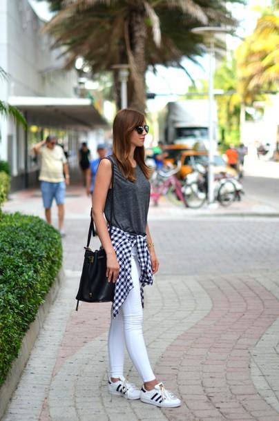 vogue haus, blogger, shirt, white jeans