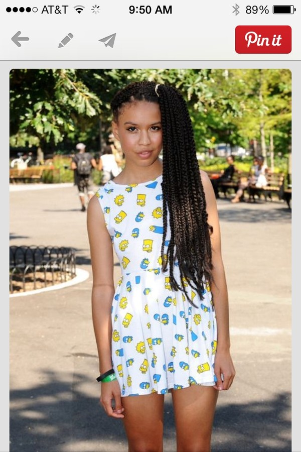 dress white dress the simpsons pattern