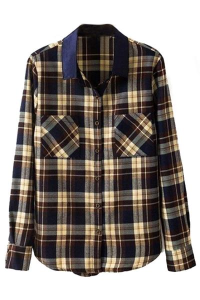 Classic Tartan Plaid Shirt - OASAP.com