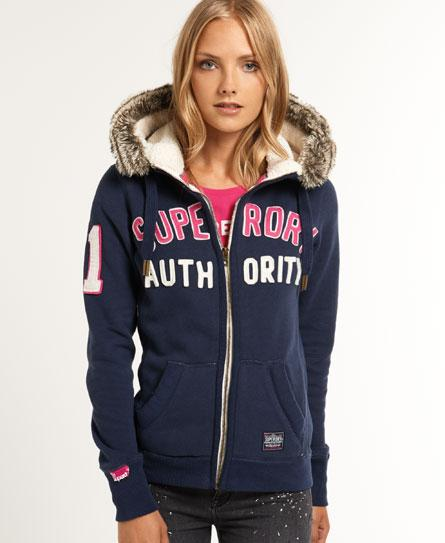Superdry Nordic Arctic Hoodie for Womens