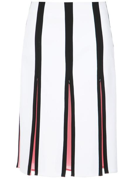 Reinaldo Lourenço skirt midi skirt women midi white