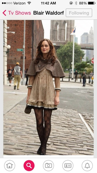 coat blair waldorf cape gossip girl