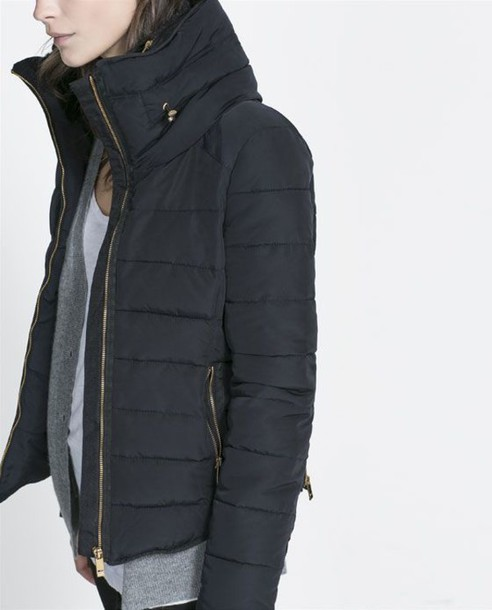 coat down jacket minimalist winter coat