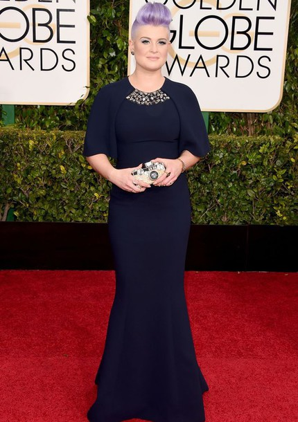 dress kelly osbourne Golden Globes 2015