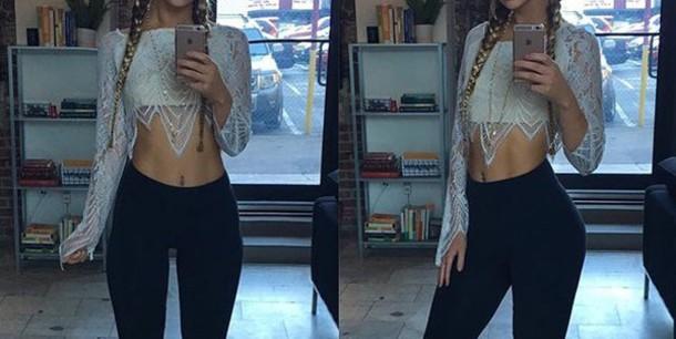 shirt crop tops long sleeves