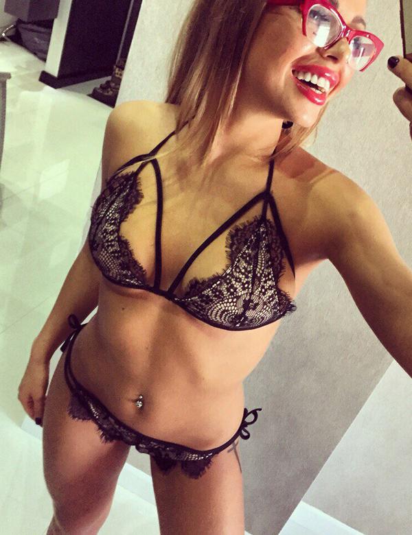 Chantilly Lace Unlined Triangle Bikini