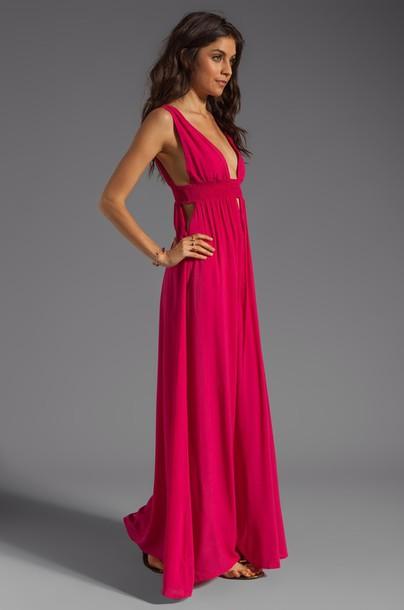 dress v dress long dress pink dress pink 2014 full