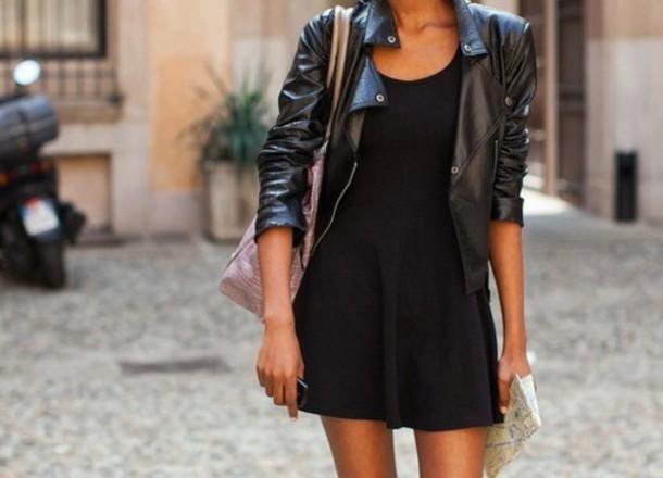 dress balck dress black noir robe tumblr