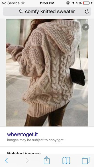 sweater comfy tan knitted sweater comfy sweater big sweaters