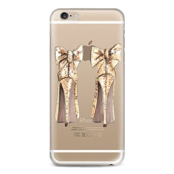 Phone Cover Gorgeous Shoes Tpu Iphone Case Love Fashion Chanel Bow Shoes Bows Iphone 6 Case Iphone 6 Case Iphone 5 Case Iphone 5 Case Design Summer Iphone Cover Bow Shoes Wheretoget