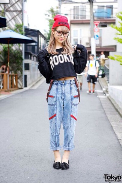 jeans sweater shoes