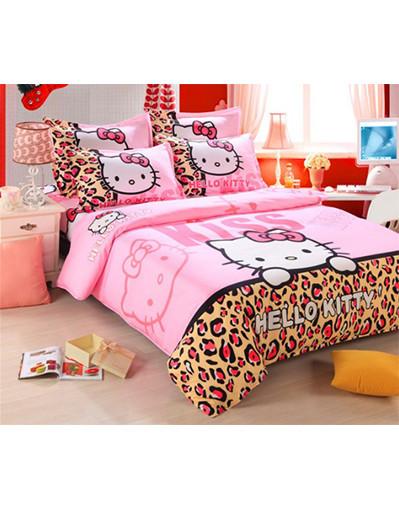 Hello kitty cute bedding set
