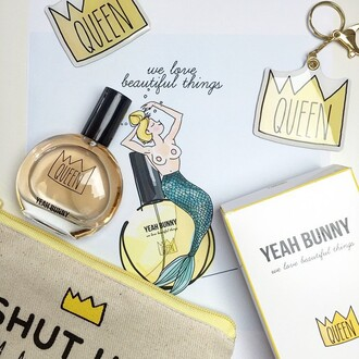 make-up yeah bunny makeup bag princess pouch princess shut up im a princes
