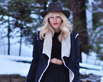 love maegan blogger dress hat jacket sunglasses shoes
