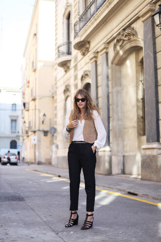 my daily style blogger jacket shoes pants jewels bag