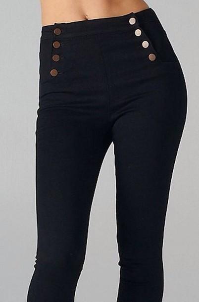 jeans 8 button jeans