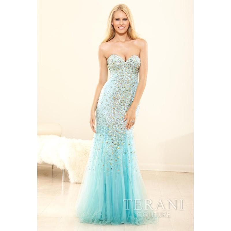 Aqua Terani Prom P3116 - Brand Wedding Store Online