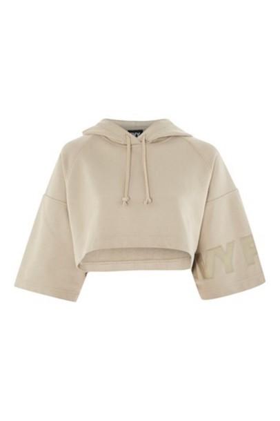 Topshop hoodie green sweater
