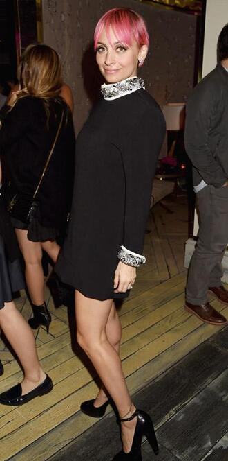 dress nicole richie short dress long sleeve dress